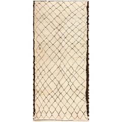 Vintage Moroccan Carpet