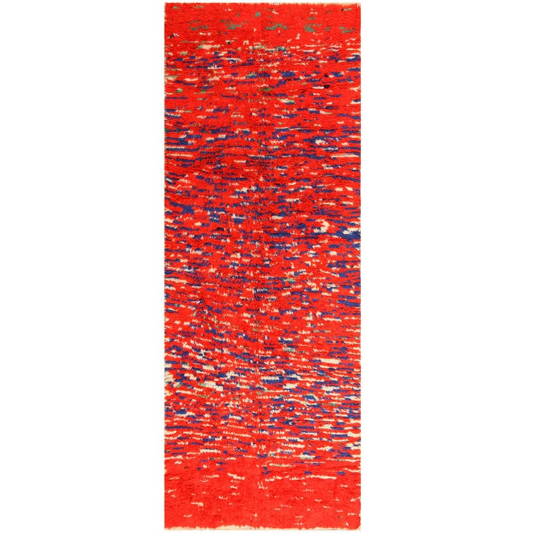 Moroccan Boucherouite Rug For Sale At 1stdibs: Colorful Vintage Moroccan Berber Rug For Sale At 1stdibs