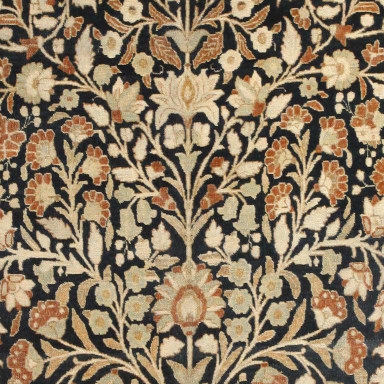 Modern Persian Tabriz Design Rug 44687 Nazmiyal Antique Rugs: Antique Haji Jalili Tabriz Carpet For Sale At 1stdibs