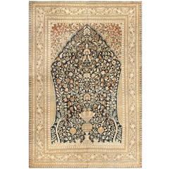Antique Haji Jalili Tabriz Carpet