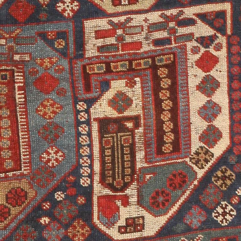 Antique Persian Gashgai / Qashqai Rug At 1stdibs
