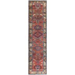 Antique Heriz Persian Runner