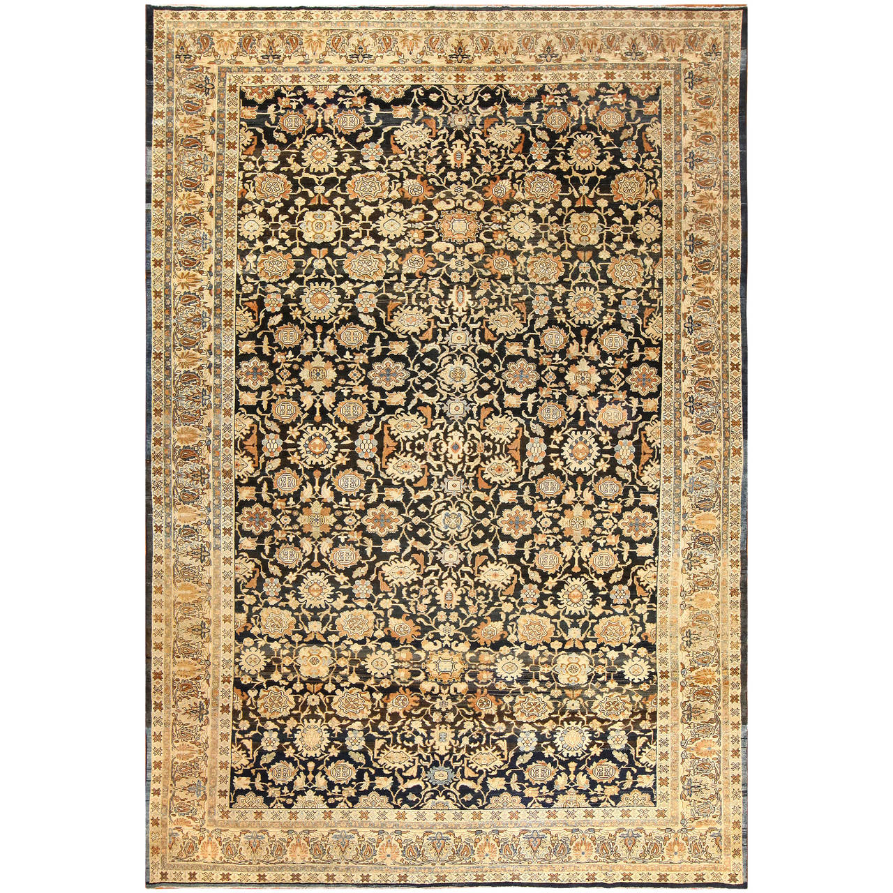Antique Persian Malayer Rug For Sale At 1stdibs