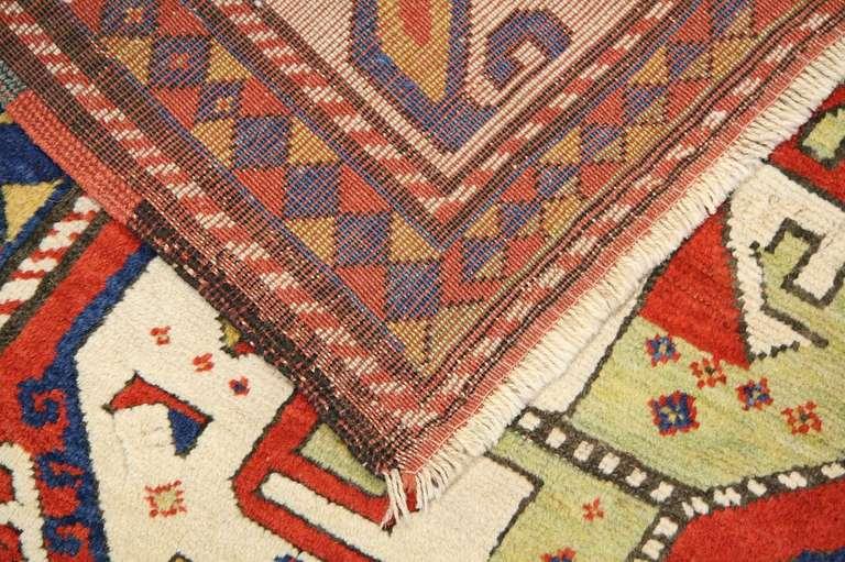 Antique Caucasian Tribal Kazak Rug Or Carpet For Sale At