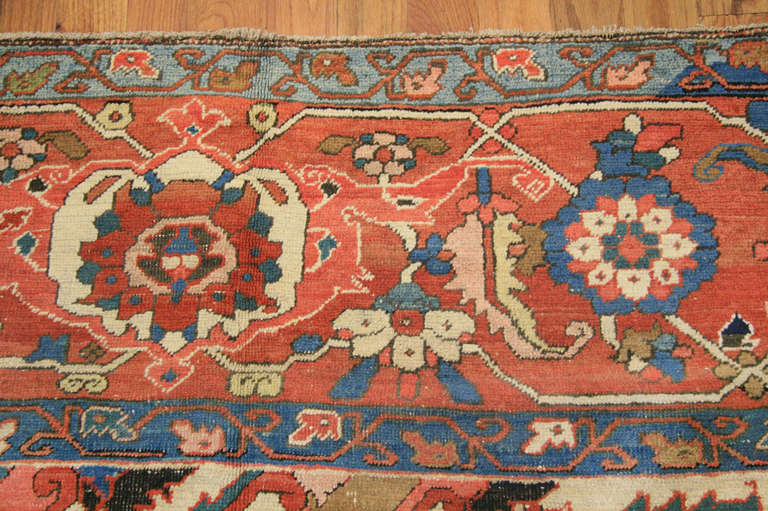 Antique Heriz Serapi Rug At 1stdibs