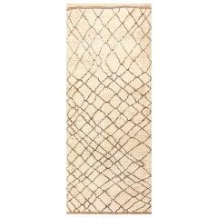 Ivory Vintage Moroccan Rug