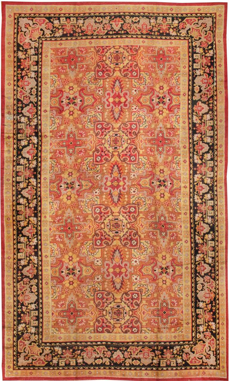Antique Deco English Rug For Sale At 1stdibs