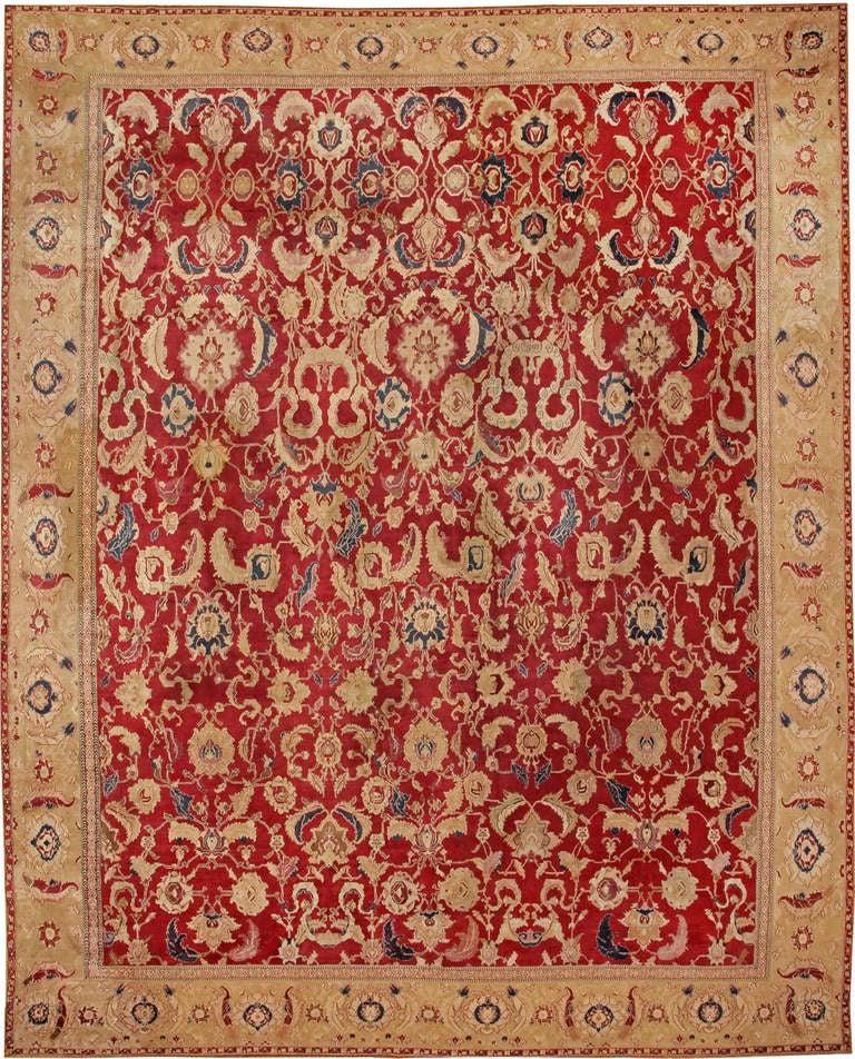 Antique Agra Carpet For Sale At 1stdibs