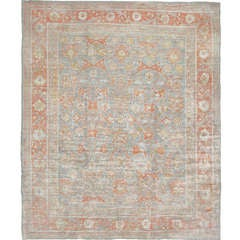 Antique Angora Oushak Rug or Carpet from Turkey