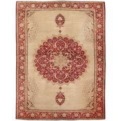 Beautiful and Impressive Large Antique Turkish Ghiordes Rug