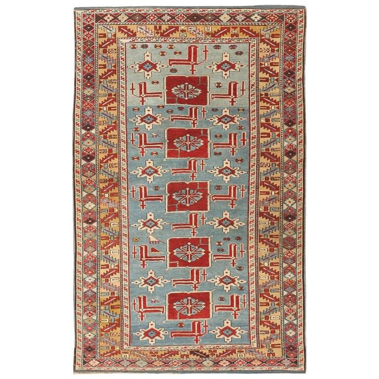 Antique Karakashly Caucasian Rug 47061 At 1stdibs