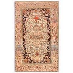 Antique Mohtashem Kashan Persian Rug 47051