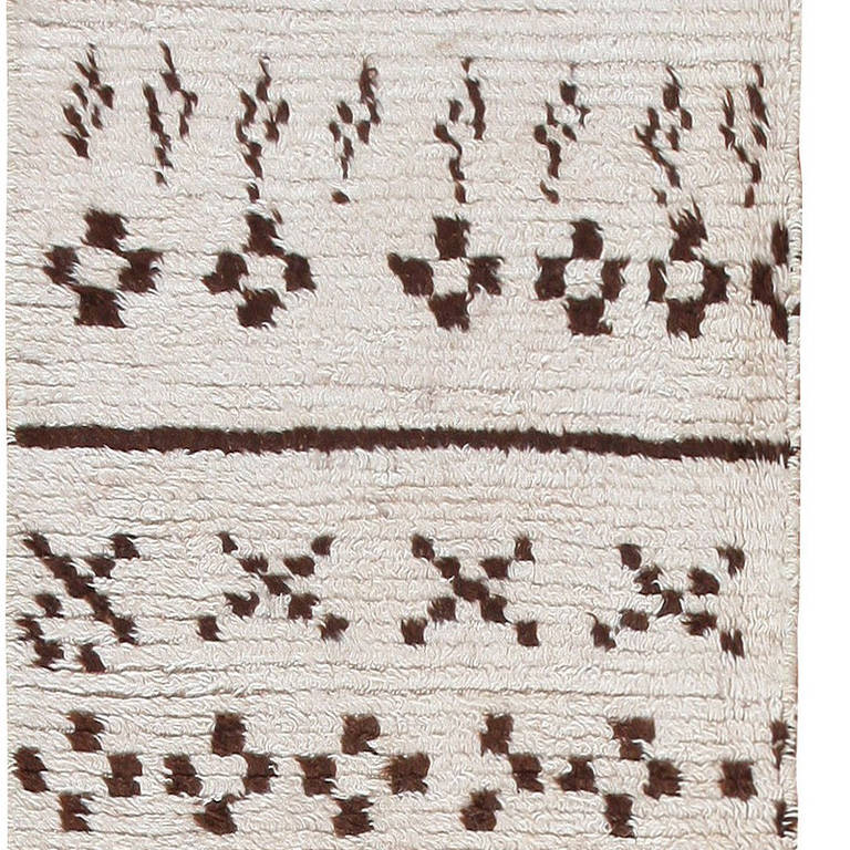 vintage beni ourain runner rug at 1stdibs. Black Bedroom Furniture Sets. Home Design Ideas