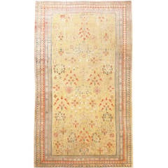 Breathtaking Rare Oversize Antique Khotan Rug 50200