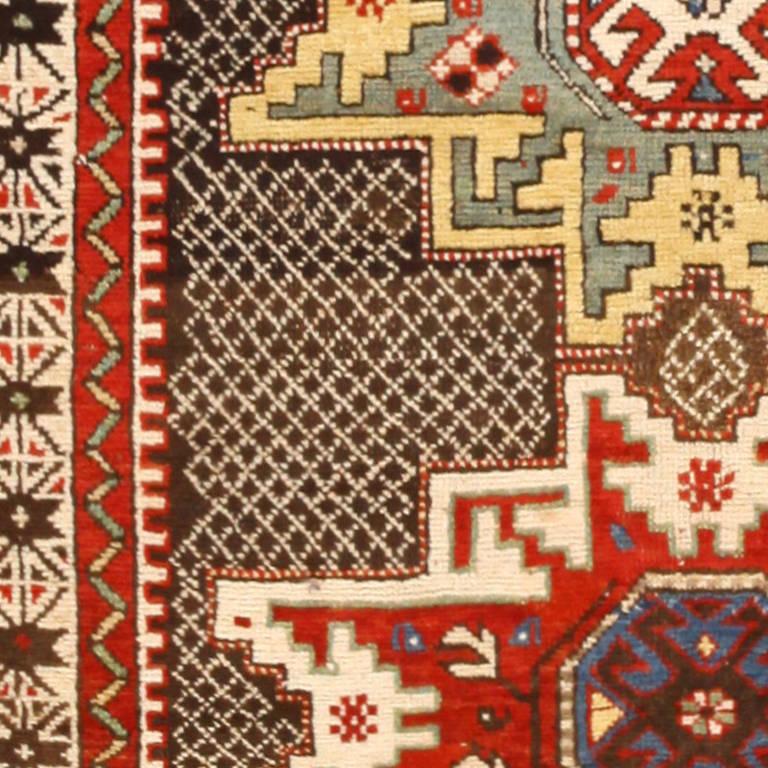 Antique Caucasian Kuba Rug For Sale At 1stdibs