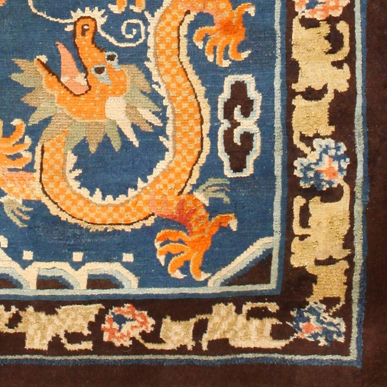 Chinese Carpets And Rugs: Antique Chinese Dragon Rug At 1stdibs