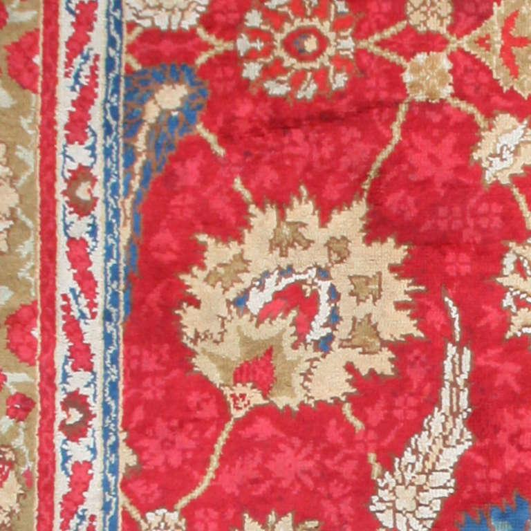 antique arts and crafts donegal irish rug at 1stdibs. Black Bedroom Furniture Sets. Home Design Ideas
