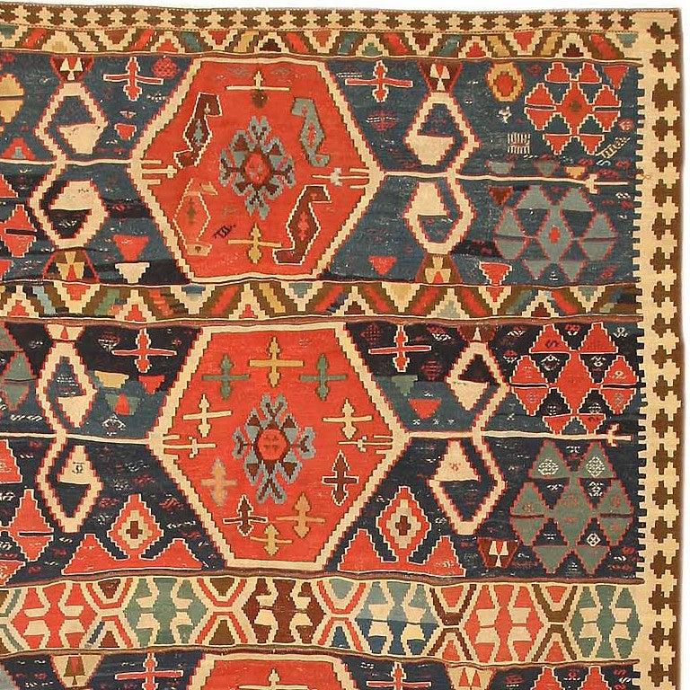 Antique Turkish Kilim Rug Or Carpet For Sale At 1stdibs