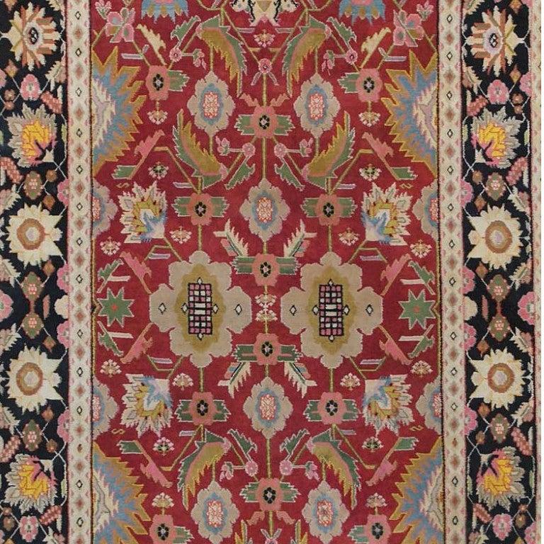 Deep Burgundy Indian Agra Rug For Sale At 1stdibs: Antique Agra Rug For Sale At 1stdibs