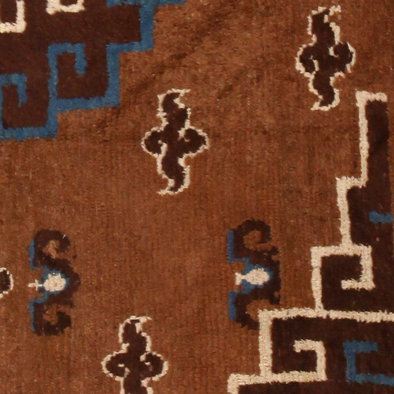 Mongolian Rug 90 x 150cm - Silver | Home Decor | Rugs - B&M |Mongol Rug