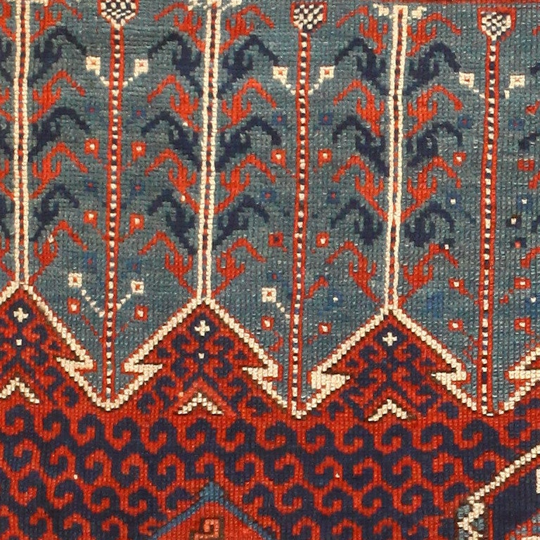 Antique West Anatolian Bergama Rug At 1stdibs