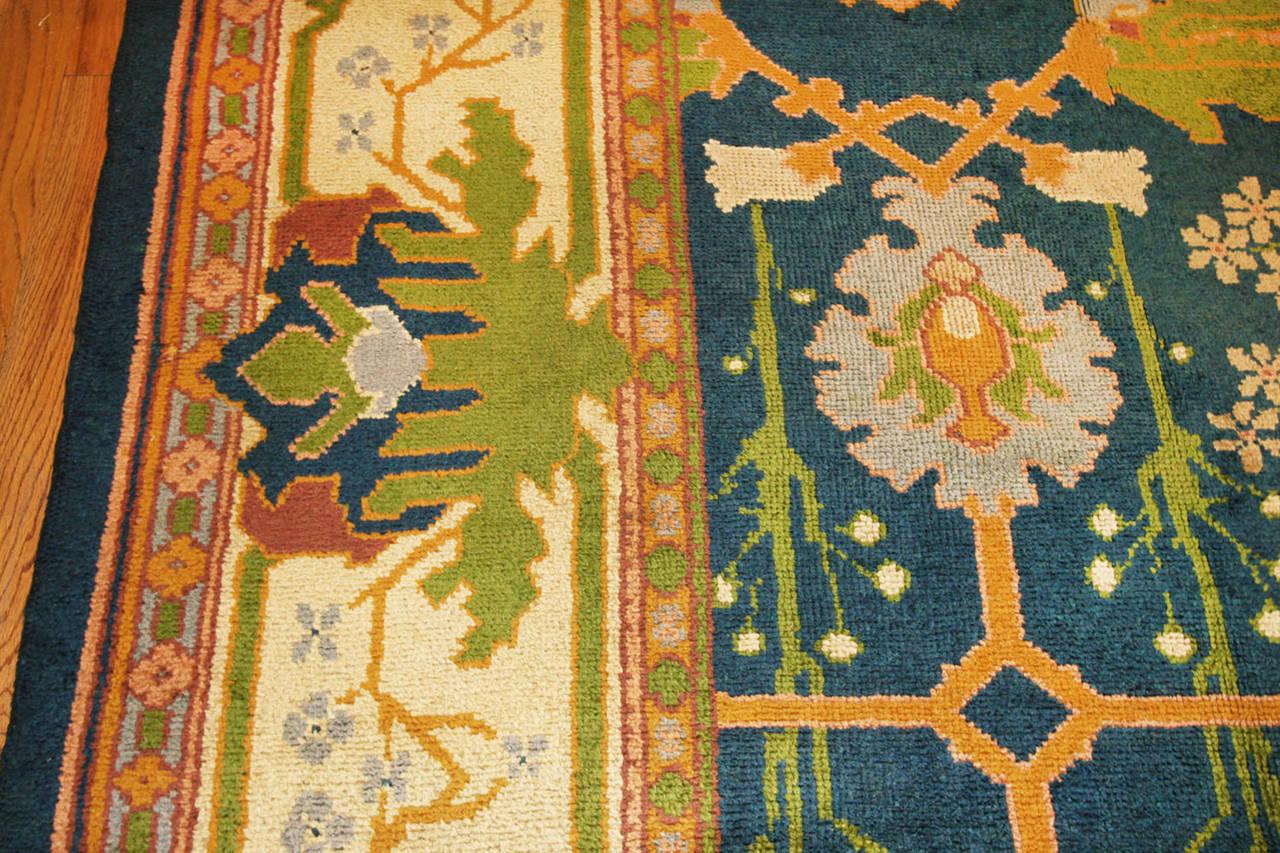 gavin morton arts and crafts donegal rug at 1stdibs. Black Bedroom Furniture Sets. Home Design Ideas