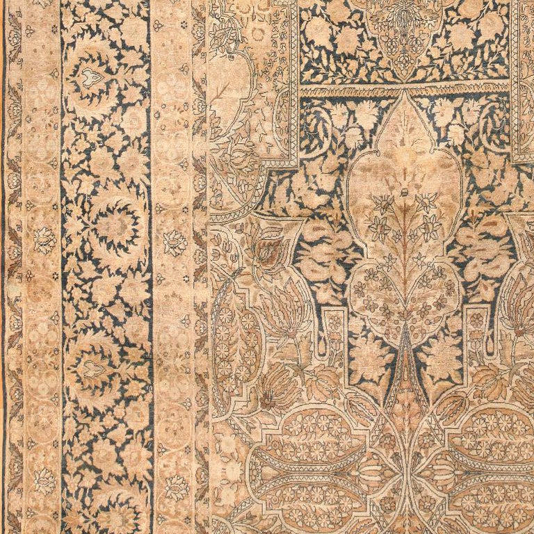 Persian Antique Kerman Carpet For Sale