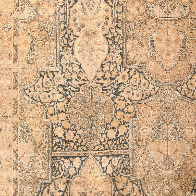 Kirman Antique Kerman Carpet For Sale