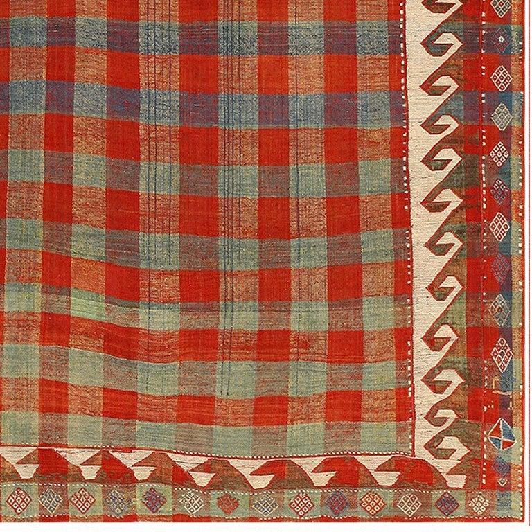 Caucasian Kilim Rug: Antique Caucasian Shahsavan Kilim For Sale At 1stdibs