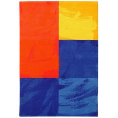 Vintage Ege Art Rug after Charles Arnoldi