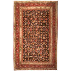 Antique Oriental Indian Agra Rug or Carpet