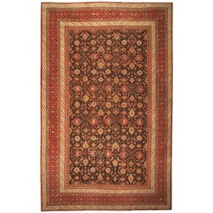 Antique Oriental Indian Agra Rug or Carpet