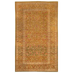 Antique Amritsar Rug from North India