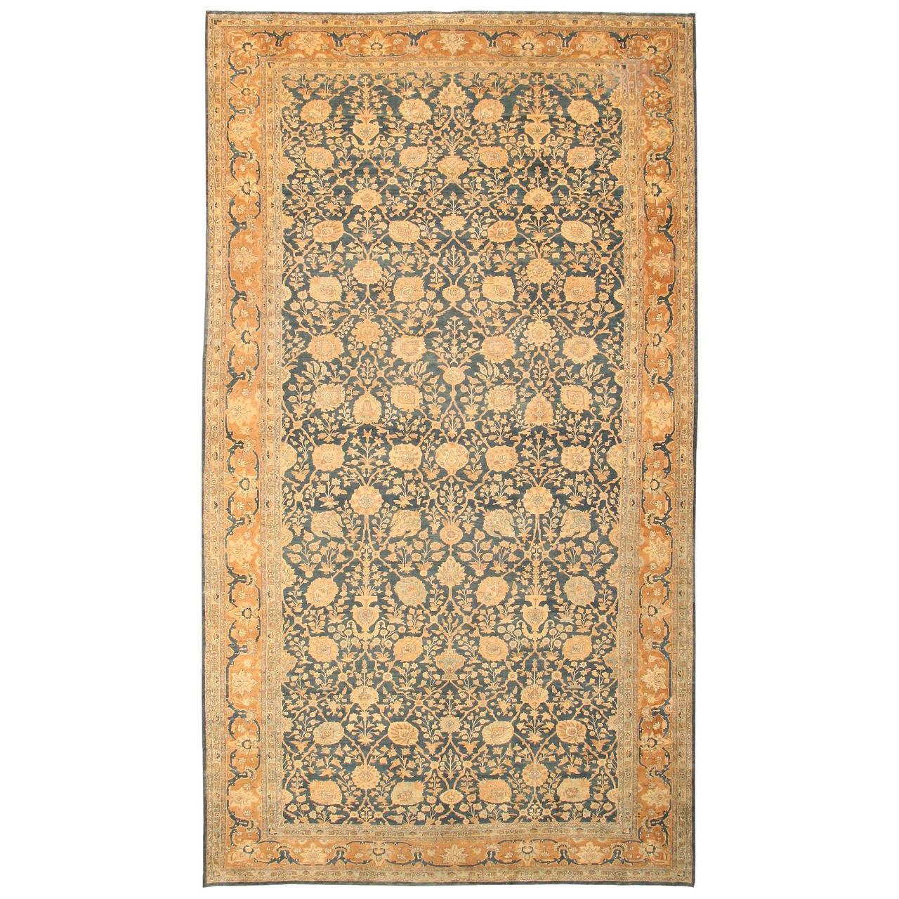 Antique Oriental Tabriz Persian Rug Carpet At 1stdibs