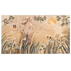 Vintage French Tapestry Rug