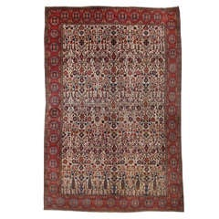 Magnificent and Massive Antique Bakhtiari Carpet
