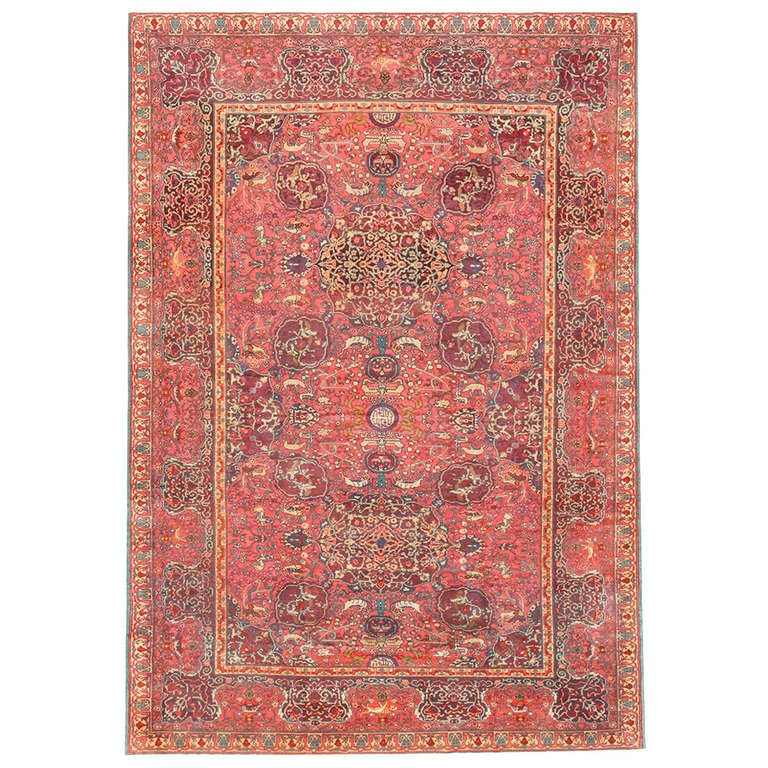Antique Marbediah Carpet Israeli Rug For Sale At 1stdibs