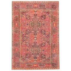 Antique Marbediah Carpet Israeli Rug