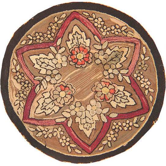 American Hooked Rug, Americana Folk Art