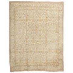Decorative Room Size Antique Spanish Carpet
