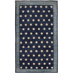 Antique Art Deco Persian Carpet