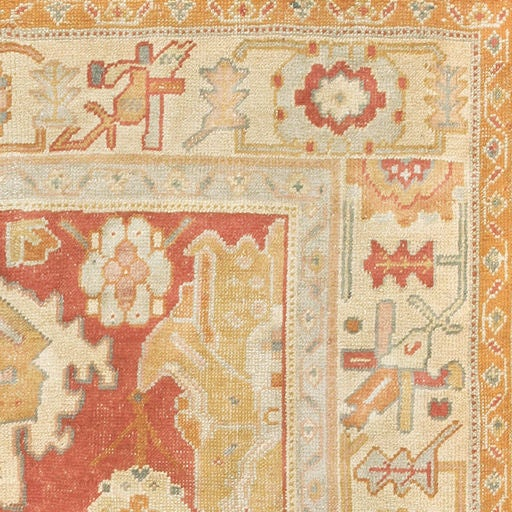 Oushak In Western Turkey Has Been A Major Center Of Rug Production Almost From The Very