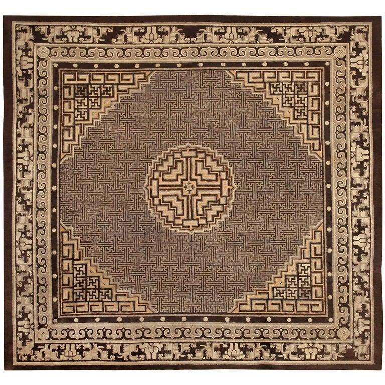 Mongolian Tibetan Lamb fur plate rug throw new by furdecor ... |Mongol Rug