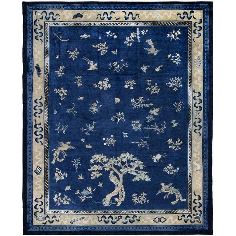 Tibetan-style Oriental carpet, ca. 1900