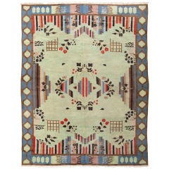 Art Deco Indian Rug