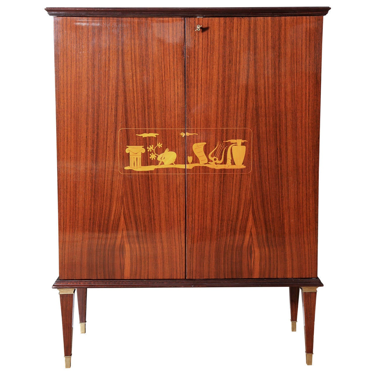 Art Deco Cabinet By Paolo Buffa At 1stdibs