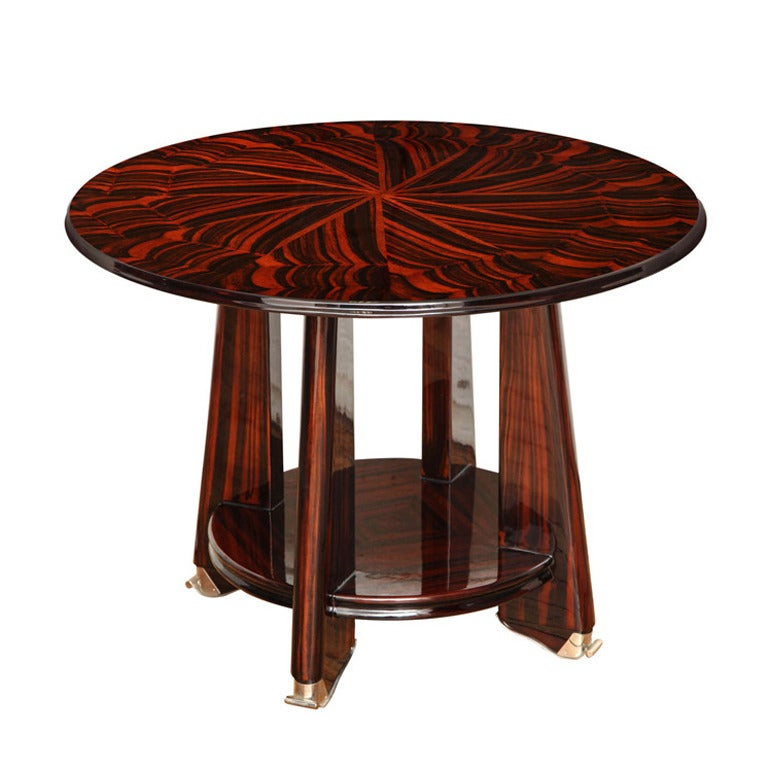 Art deco gueridon side table at 1stdibs - Archives departementales 33 tables decennales ...