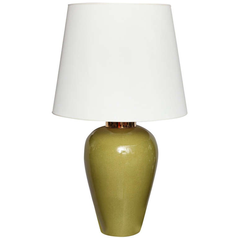 mid century large table lamp for sale at 1stdibs. Black Bedroom Furniture Sets. Home Design Ideas