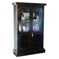 """""""Bois Noirci"""" Louis XIV Bibliotech Cabinet"""