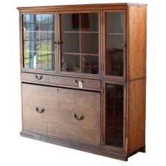 Pitch Pine Arms Cabinet
